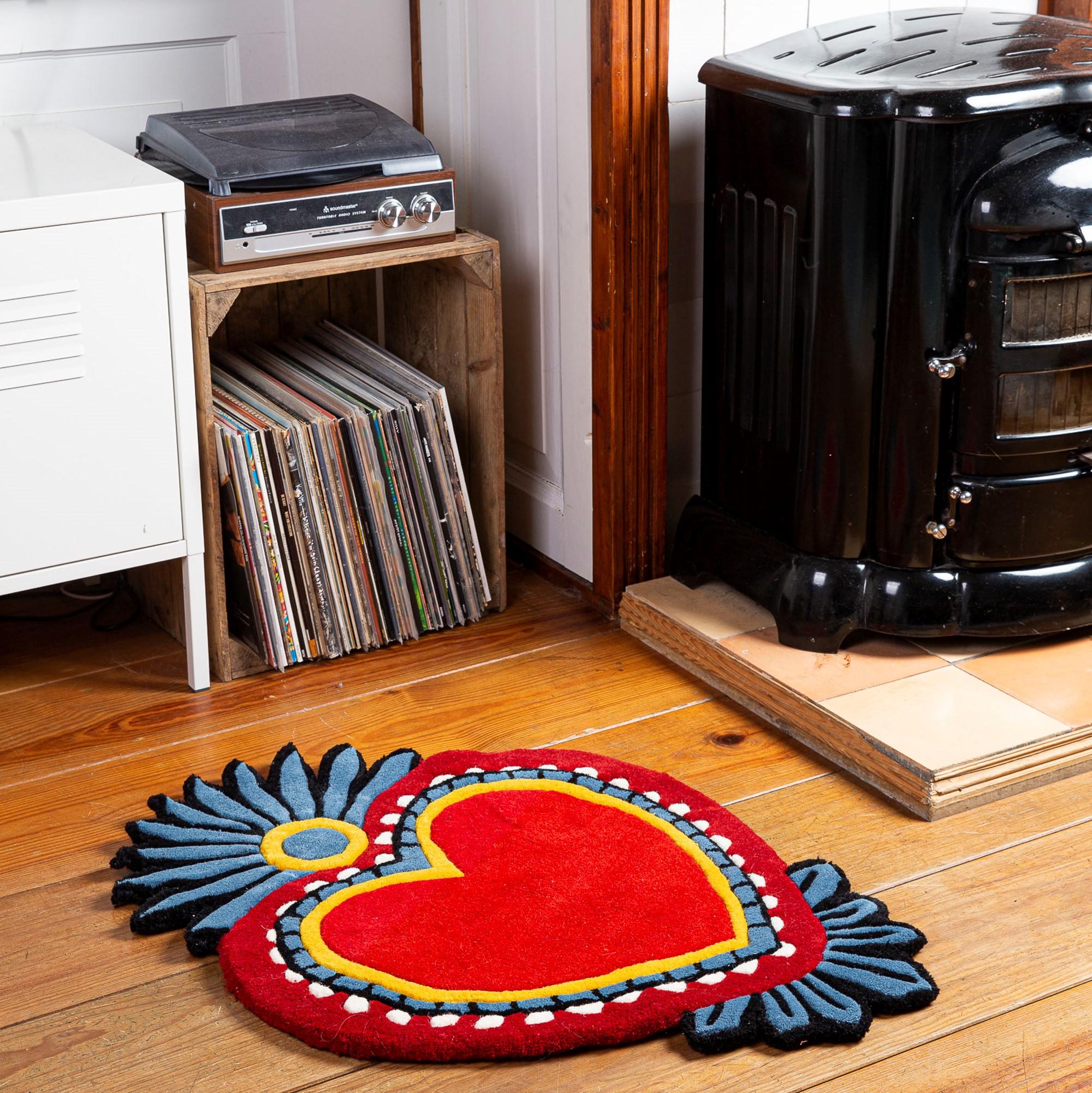 Kitsch Kitchen - Sfeer vloerkleed Milagro Heart M