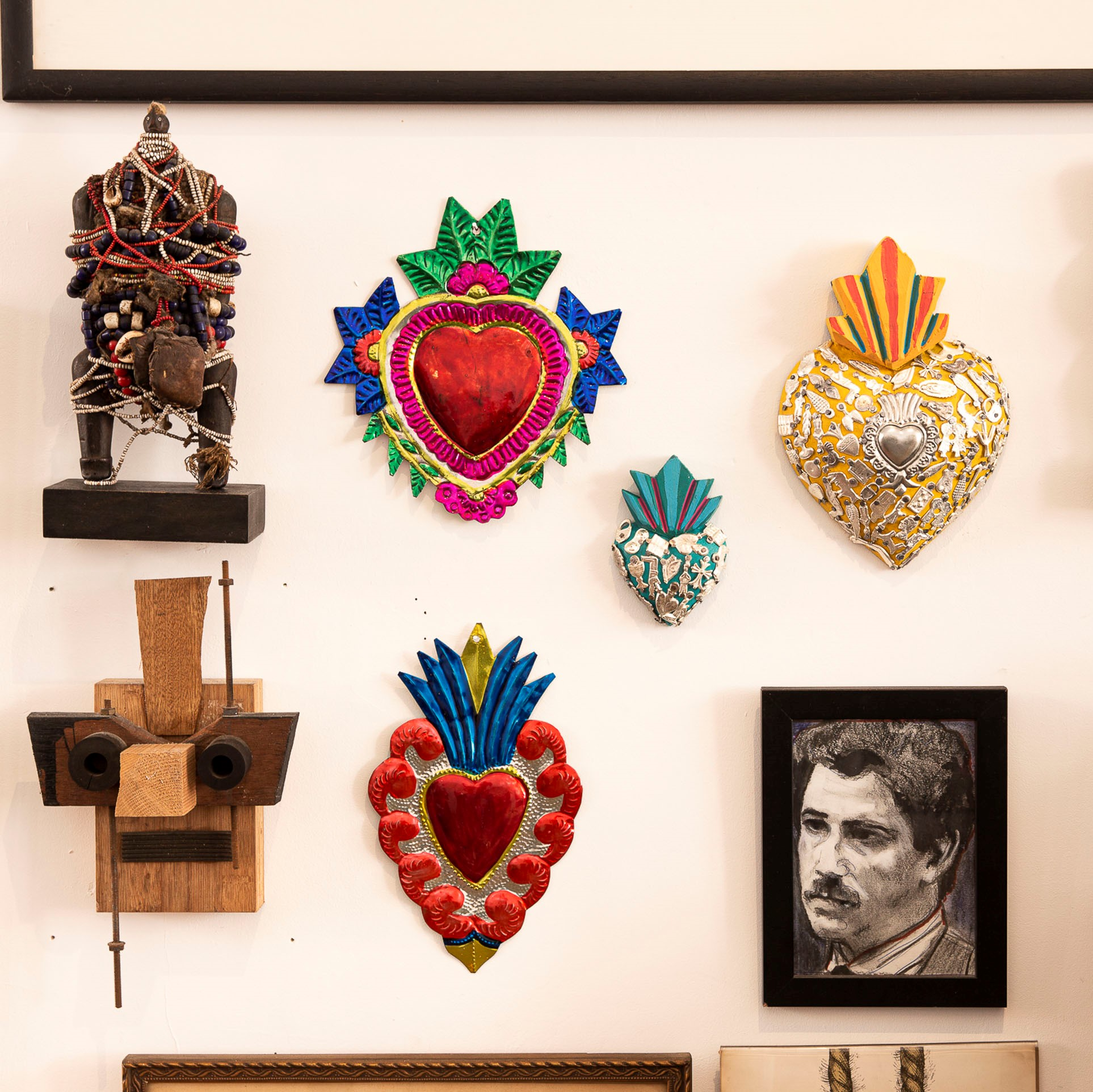 Kitsch Kitchen - Sfeer Decoratie Heart Flower
