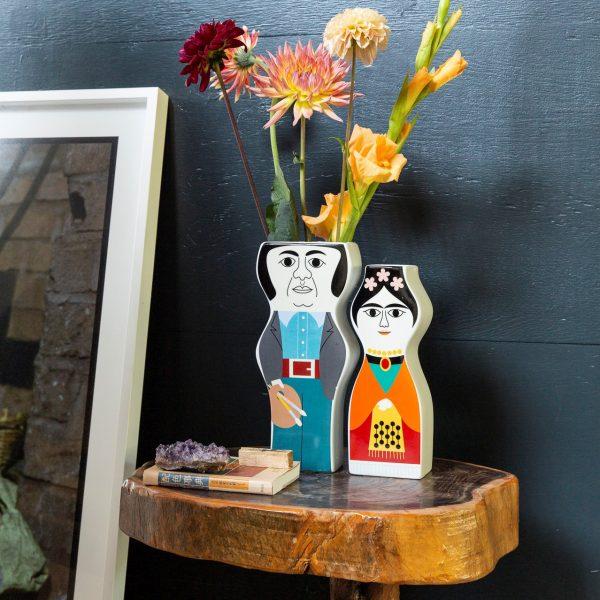 Kitsch Kitchen - Sfeer Vaas Diego en Frida