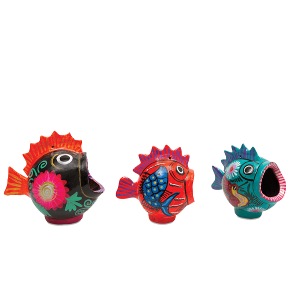 Kitsch Kitchen - Asbak vis