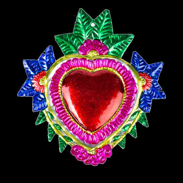 Kitsch Kitchen - Decoratie Tin Flower