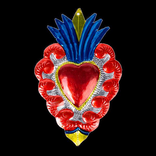 Kitsch Kitchen - Decoratie Tin Heart