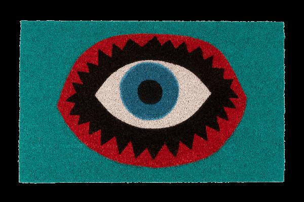 Kitsch Kitchen - Deurmat big Eye