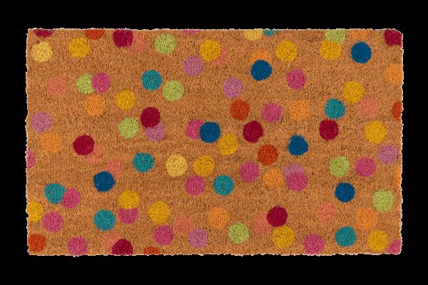 Kitsch Kitchen - Deurmat Confetti naturel