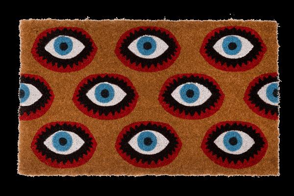 Kitsch Kitchen - Deurmat Eyes
