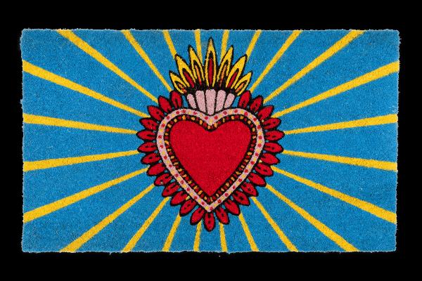 Kitsch Kitchen - Deurmat Milagro Heart