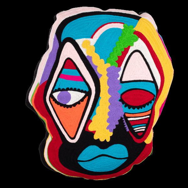 Kitsch Kitchen - Kussen Mask