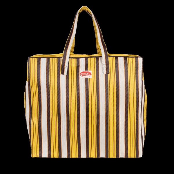 Kitsch Kitchen - Reistas strepen geel