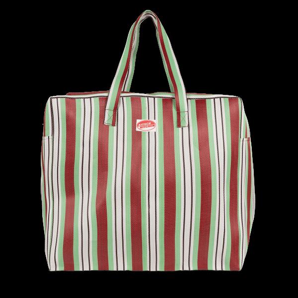 Kitsch Kitchen - Reistas strepen groen