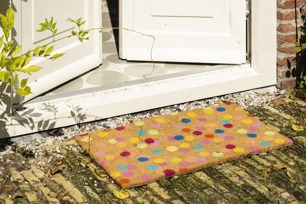 Kitsch Kitchen - Sfeer Deurmat Confetti