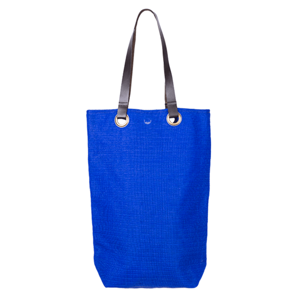 Kitsch Kitchen - Shopper Leder handvat blauw