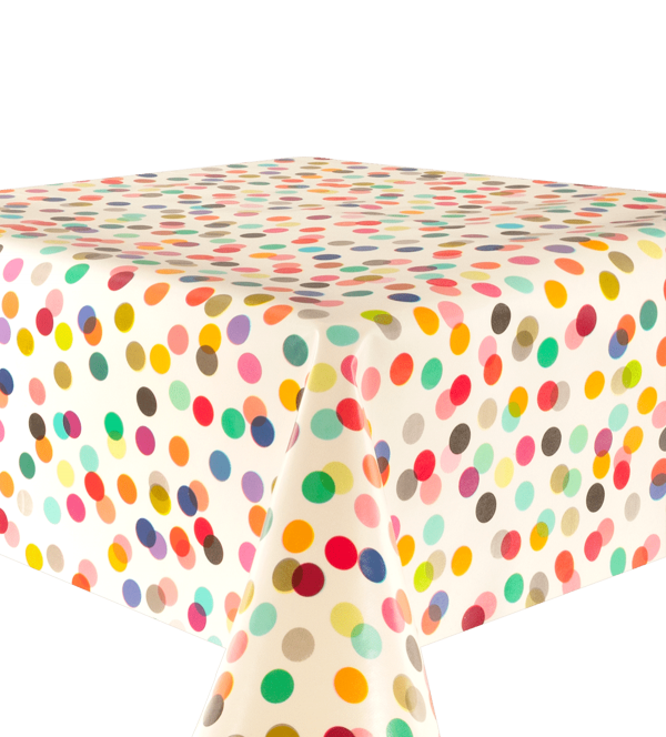 Kitsch Kitchen - Tafelzeil Confetti