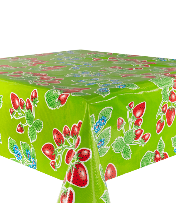 Kitsch Kitchen - Tafelzeil Fresas groen