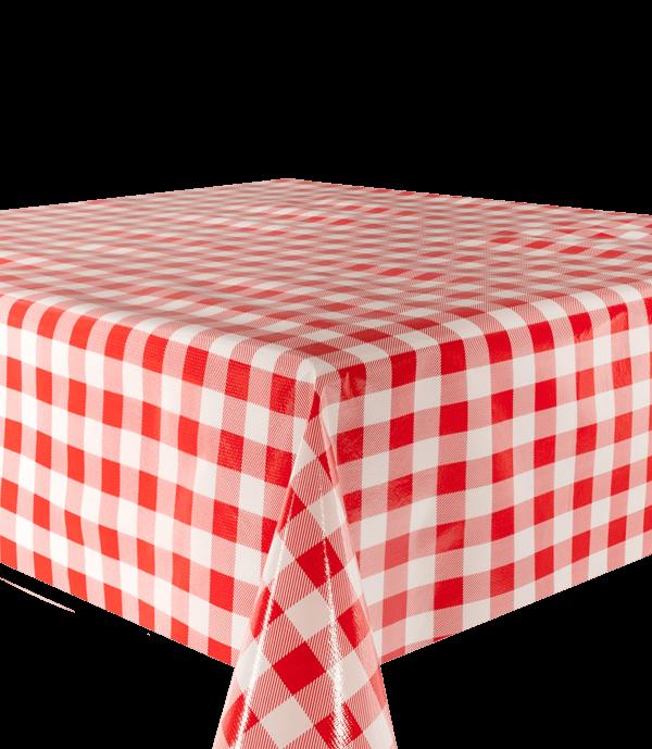 Kitsch Kitchen - Tafelzeil Mascota XL rood