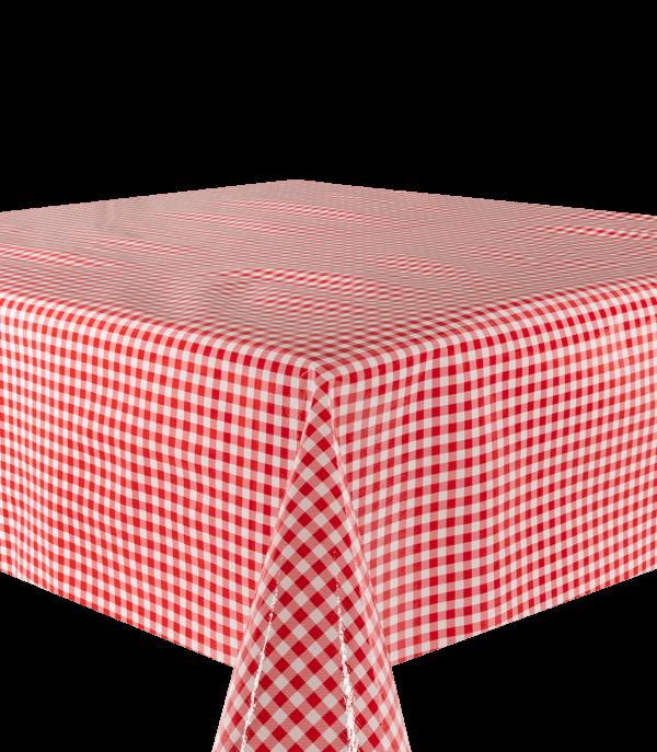 Kitsch Kitchen - Tafelzeil Mascota rood