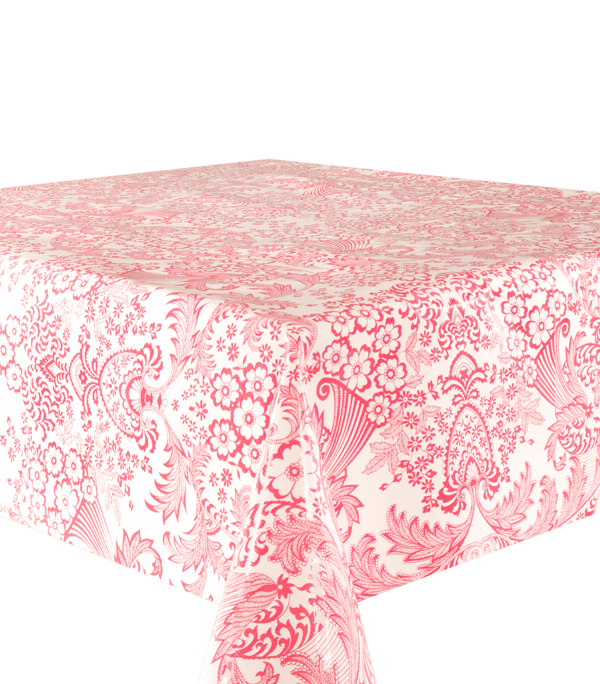 Kitsch Kitchen - Tafelzeil Paraiso roze