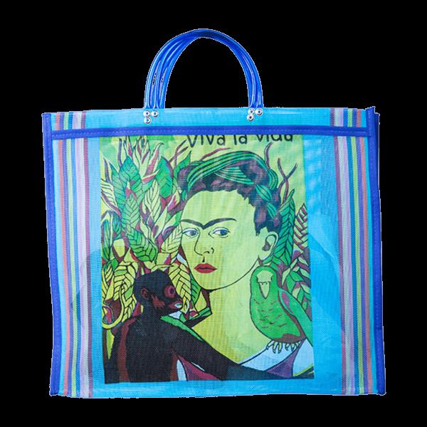 Kitsch Kitchen - Tas Maya Frida Kahlo Blue