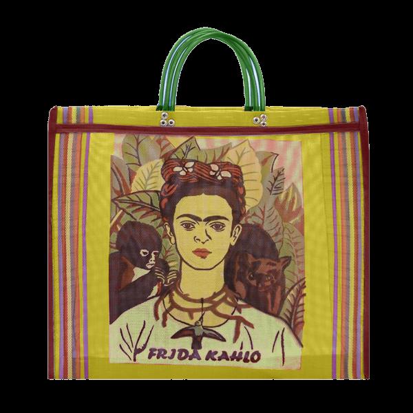 Kitsch Kitchen - Tas Maya Frida Kahlo geel