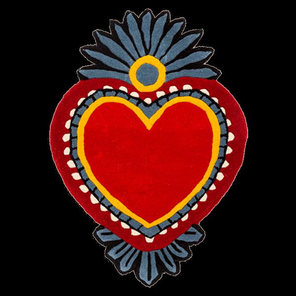 Kitsch Kitchen - Vloerkleed Milagro Heart M