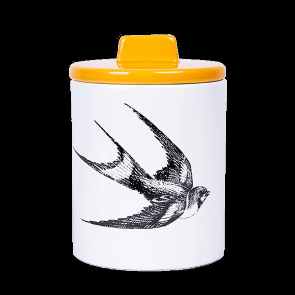 Kitsch Kitchen - Voorraadpot zwaluw